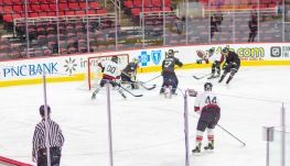 Taken at 23:00 in PNC Arena Shutter Speed: 1/250 Aperture: f/2 ISO set Auto: 200 50mm