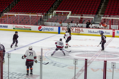 Taken at 23:11 in PNC Arena Shutter Speed: 1/250 Aperture: f/2 ISO set Auto: 140 50mm