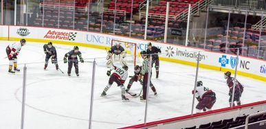 Taken at 23:18 in PNC Arena Shutter Speed: 1/250 Aperture: f/2 ISO set Auto: 160 50mm