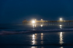 Atlantic Beach Fishing Pier at 05:58 on 1 Sep 2020 Shutter Speed: .63 seconds Aperture: f/2.8 ISO: 1250 Focal Length: 50mm