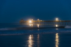 Atlantic Beach Fishing Pier at 06:02 on 1 Sep 2020 Shutter Speed: 1.3 seconds Aperture: f/2.8 ISO: 1250 Focal Length: 50mm