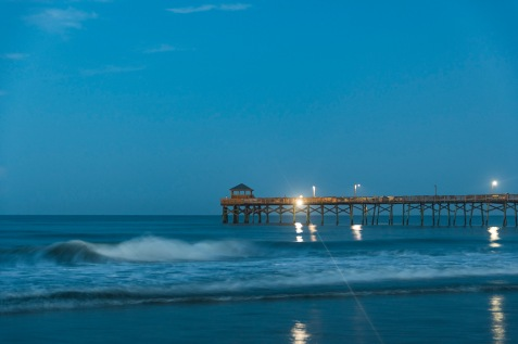 Atlantic Beach Fishing Pier at 06:17 on 1 Sep 2020 Shutter Speed: 3/4 seconds Aperture: f/2.8 ISO: 1250 Focal Length: 50mm