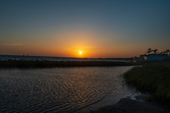 Sunset on 3 Sep 2020 at 19:16 Shutter Speed: 1/160 Aperture: f/7 ISO: 62 Focal Length: 17mm