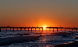 Sunset at 18:48 on 30 September Shutter Speed: 1/160 Aperture: f/6.3 ISO: 50 Focal Length: 62mm