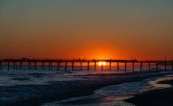 Sunset at 18:49 on 30 September Shutter Speed: 1/160 Aperture: f/6.3 ISO: 50 Focal Length: 62mm