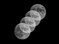 Moonrise Waxing Gibbous 98% Moonrise taken at 20:29 on September 1st Shutter Speed: 1/125 Aperture: f/8 ISO: 79 Focal Length: 300mm