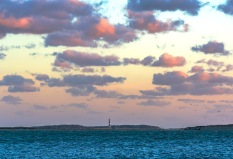Cape Lookout Lighthouse during sunset Taken at 18:15 on 17 Oct Shutter Speed: 1/80 Aperture: f/4.8 ISO: 125 Focal Length: 110mm