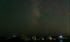 Milky Way in the evening sky Taken on 17 Oct at 20:02 Shutter Speed: 10.0 sec Aperture: f/2.8 ISO: 6400 Focal Length: 27mm