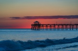 Sunset at Atlantic Beach on 4 October at 17:12 Shutter Speed: 1/100 Aperture: f/4.8 ISO: 50 Focal Lenght: 125mm