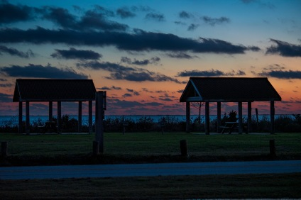 Golden Hour Harkers Island at 17:31 Shutter Speed: 1/5 Aperture: f/5 ISO: 125 Focal Length: 70mm